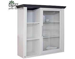 Купить шкаф Диприз Манхетен Д 7200-3 (со стеклом)