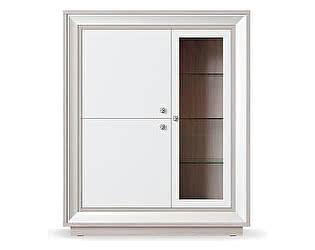 Купить шкаф Кураж Прато ГТ.0114.302 3-х дверный (1 стеклодверь) 1179 низкий
