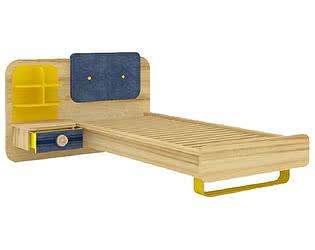 Купить кровать Любимый дом Джинс комбинированная (80), ЛД 507.100