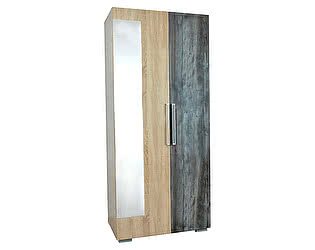 Купить шкаф SV-мебель Лагуна-2 двухстворчатый