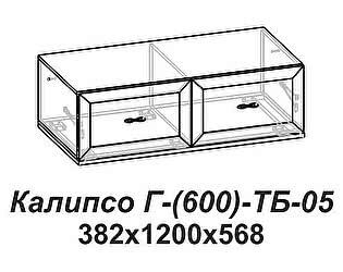 Купить тумбу Santan Калипсо Г-(600)-ТБ-05