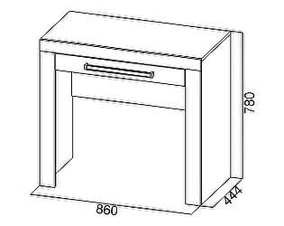 Купить стол SV-мебель Лагуна-6