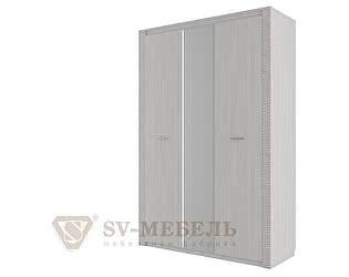 Купить шкаф SV-мебель Гамма-20 трехстворчатый комбинированный