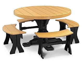 Купить стол ВМК-Шале Роберт комбинированный цвет