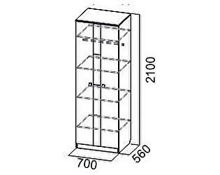 Купить шкаф SV-мебель Гамма-15