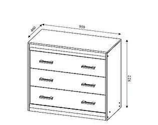 Купить комод SV-мебель Гамма-19