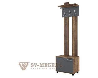 Купить вешалку SV-мебель с обувницей SV-мебель Визит-1 (МДФ)