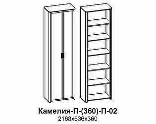 Купить шкаф Santan Камелия П-(360)-П-02 (ЛДСП)