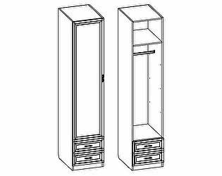 Купить шкаф Santan Калипсо Д-(600)-10 (с патиной)