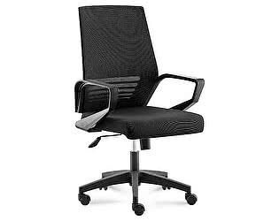 Купить кресло Норден Эрго black LB черная сетка, черная ткань, черный пластик