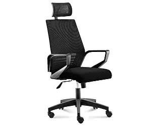 Купить кресло Норден Эрго black черная сетка,черная ткань,черный пластик