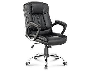 Купить кресло Норден Фактор черная экокожа