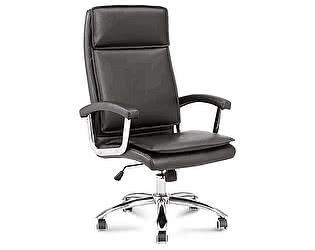 Купить кресло Норден Вашингтон черная экокожа