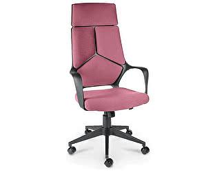 Купить кресло Норден IQ черный пластик/ фиолетовая ткань