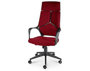 Купить кресло Норден IQ черный пластик/ т.красный ткань