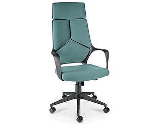 Купить кресло Норден IQ черный пластик/ морская волна ткань