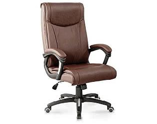Купить кресло Норден Импульс коричневая экокожа