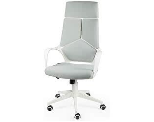 Купить кресло Норден IQ белый пластик/ серая ткань