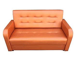 Диван Аккорд 140х190 оранжевый