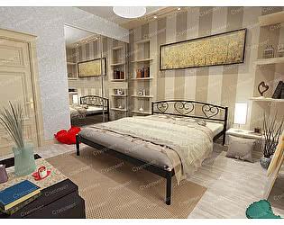 Купить кровать Стиллмет Дарина (основание металл)