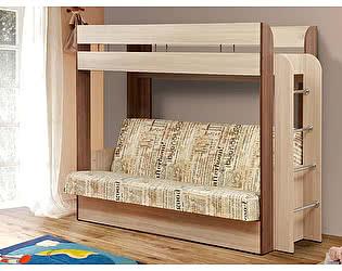 Купить кровать Олимп-Мебель чердак Немо с диван-кроватью