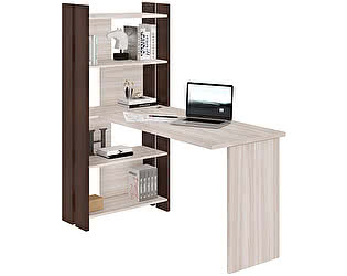 Купить стол Мэрдэс стеллаж СТЛ-ОВ+С120Прям(без тумбы)