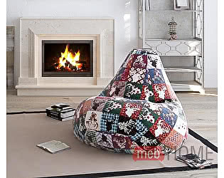 Кресло Dreambag Груша XL, велюр премиум