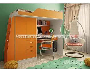 Купить кровать Фанки Кидз -чердак со встроенным столом 4