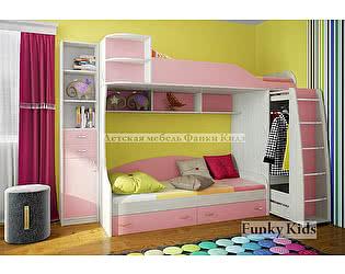 Купить кровать Фанки Кидз 12 двухъярусная