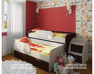Купить кровать Фанки Кидз 8 двухъярусная