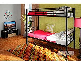 Купить кровать Фанки Кидз Лофт-1 двухъярусная