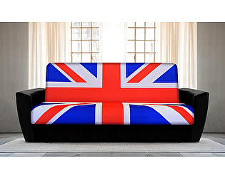 Диван-книжка Британский флаг 1 (боковины амстердам)