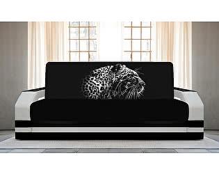 Купить диван FotoDivan книжка Гепард 1 (боковины с подсветкой)