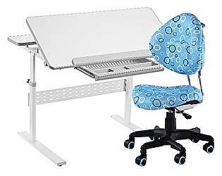 Комплект FunDesk парта Colore Grey + кресло SST5