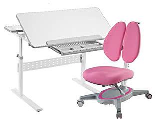 Комплект FunDesk парта Colore Grey + кресло Primavera II