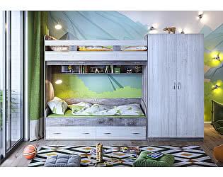Кровать 2х ярусная Юта 2