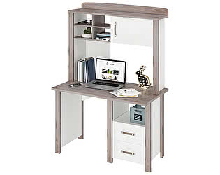 Купить стол Мэрдэс Bartolo СТД-115 с тумбой и  надстройкой НД-115