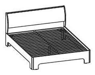 Кровать Santan Камелия Matrix КР-1104 (180)