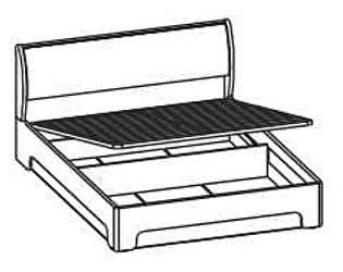 Кровать Santan Камелия Matrix КРП-1104 (180)