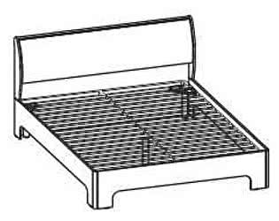 Кровать Santan Камелия Matrix КР-1107 (160)