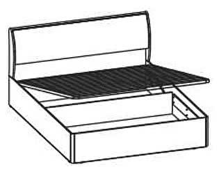 Кровать Santan Камелия Matrix КРП-1108 (180)