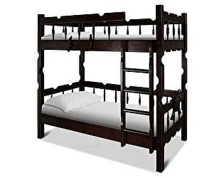 Купить кровать ВМК-Шале Штиль двухъярусная