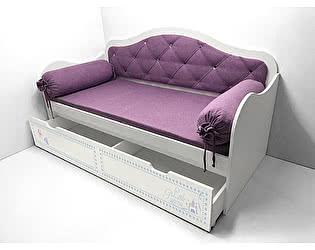 Кровать Фанки Кидз Синдерелла низкая с мягкой спинкой, арт.40026
