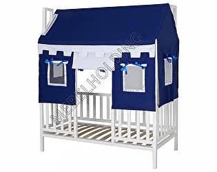Купить кровать Мебель Холдинг Домовенок-1 (эмаль белая)