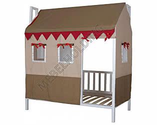 Купить кровать Мебель Холдинг Домовенок-2 (эмаль белая)