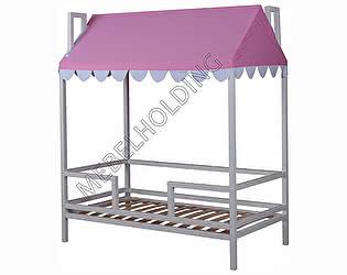 Купить кровать Мебель Холдинг Домовенок-5 (эмаль белая)
