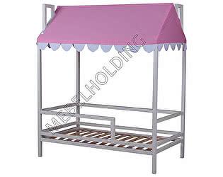 Купить кровать Мебель Холдинг Домовенок-6 (эмаль белая)