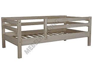 Купить кровать Мебель Холдинг Кроха-3 (эмаль белая)