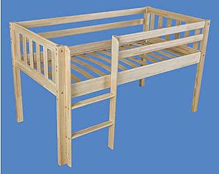 Купить кровать Мебель Холдинг чердак Кроха-2 (эмаль белая)