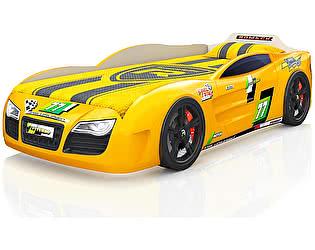 Кровать-машинка Romack Renner 2 Желтая